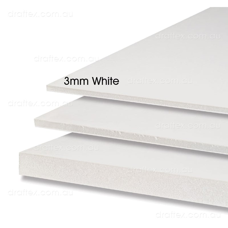 3Mm White Foam Core Board