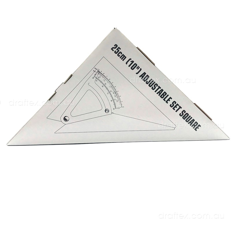 5910 Draftex Adjustable Set Square 250Mm Boxed