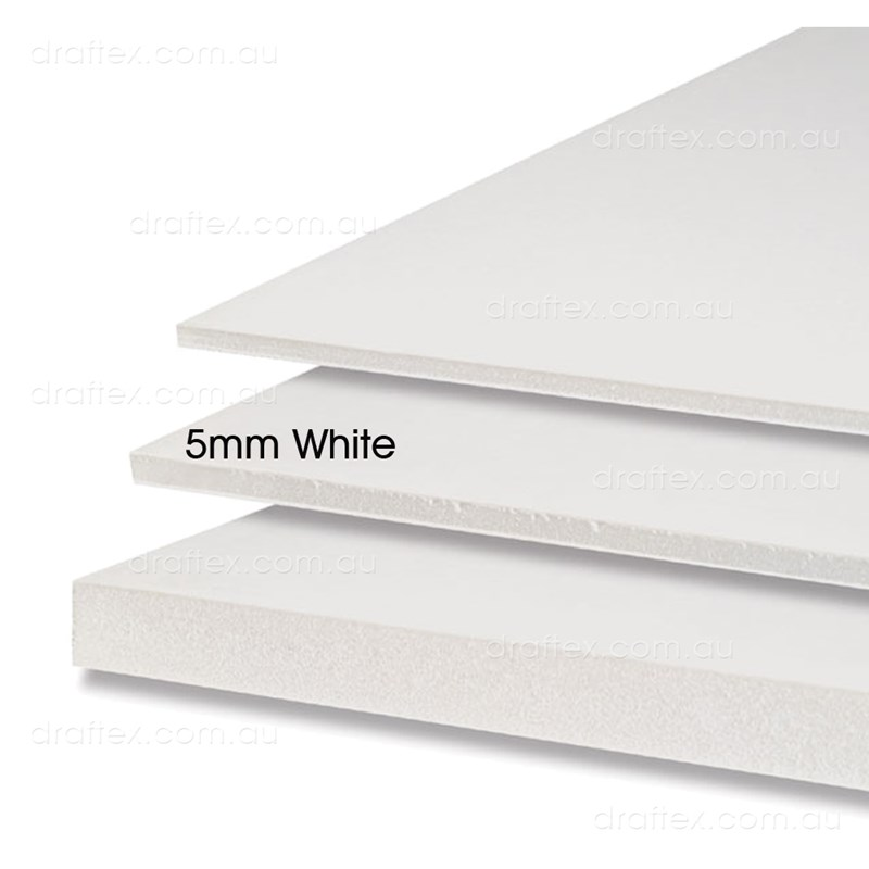 5Mm White Foam Core Board