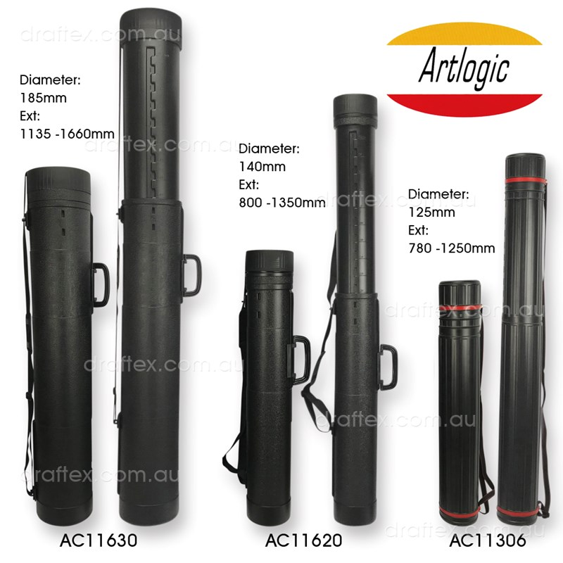 Ac11306 Ac11620 Ac11630 Artlogic Extra Large Telescopic Plan Tubes Fully Extended View 2