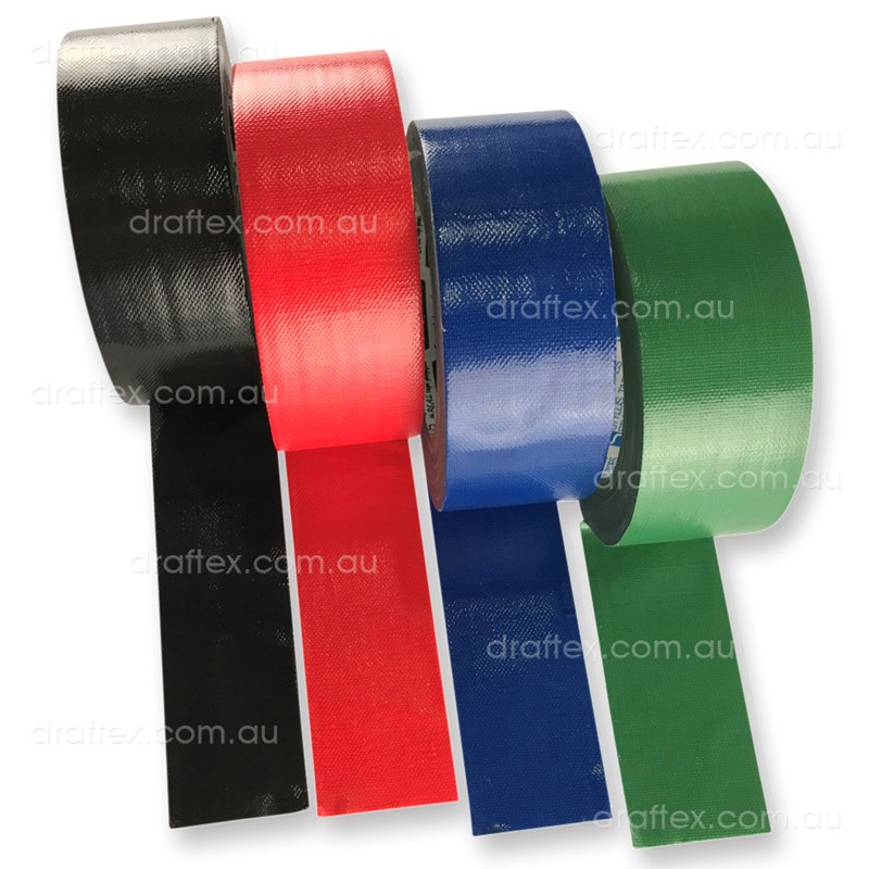 Cloth Stylus Cloth Tape 48Mm In Black Red Green Blue