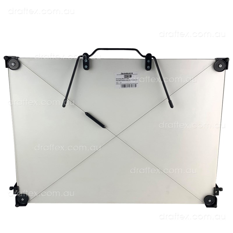 Dbt02 Isomars A2 Portable Drawing Board With Pmu Carry Handle Tilt Stand View 3