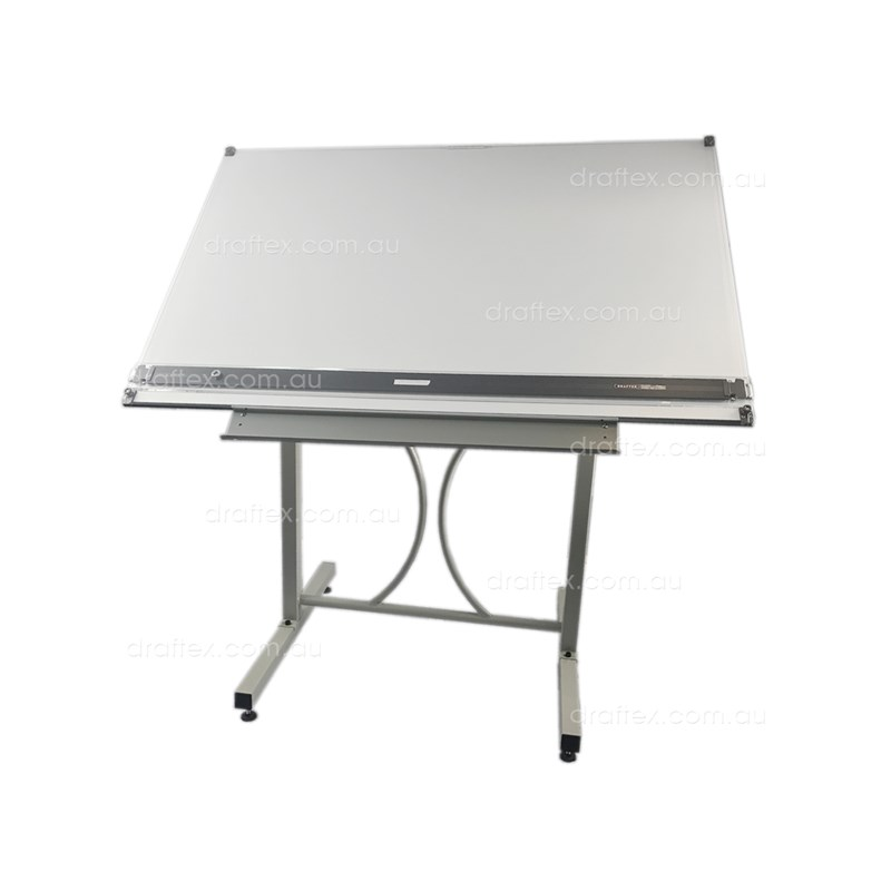 Dep18b1 Draftex Drafting Table Package Comprising Ds10 Stand Dpr1200 Parallel Rule Dbw8012 Board View1
