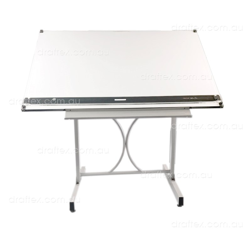 Dep19b1 Draftex Drafting Table Package Comprising Ds20 Stand Dpr1200 Parallel Rule Dbw8012 Board View1