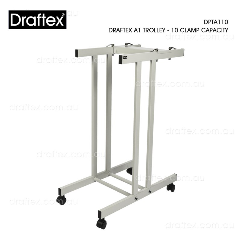Dpta110 Draftex A1 Plan Trolley 10 Clamp Capacity