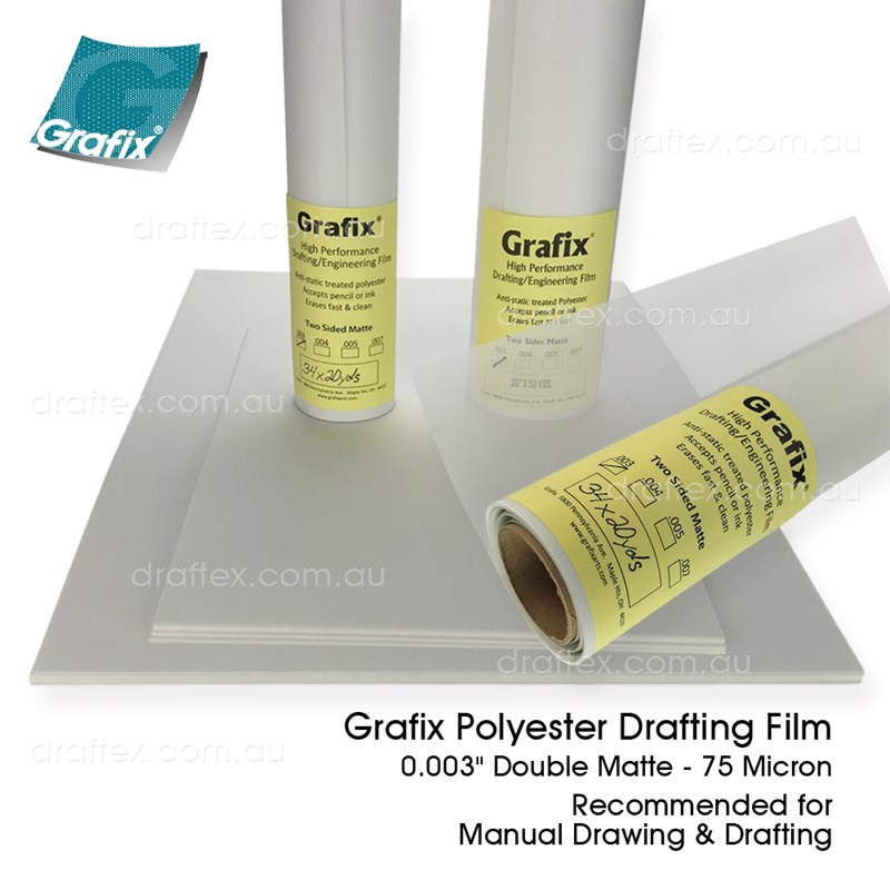 Drafting Film Grafix Polyester Drafting Film 75 Micron For Manual Drawing