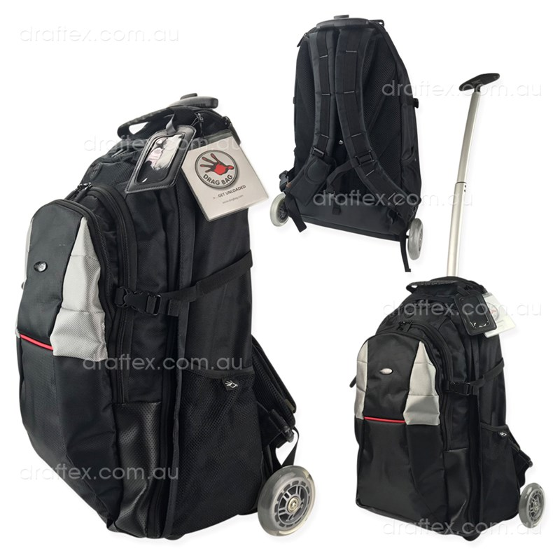 Dragbag Altitude Ergonomic Backpack Trolly Bag
