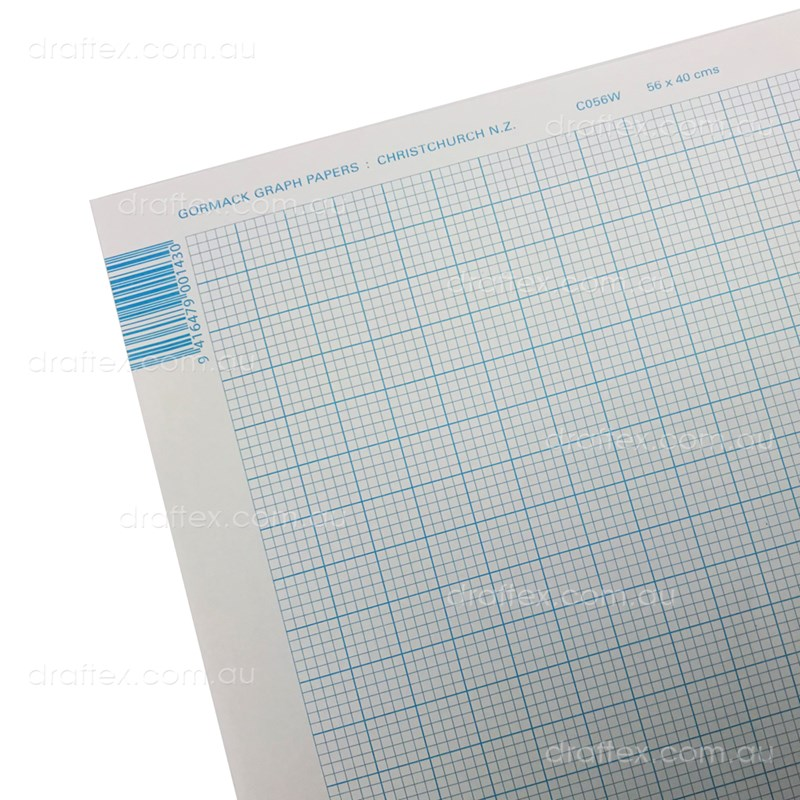Grapha2 Gormack Graph Paper Sheet 560 X 400 1Mm Grid