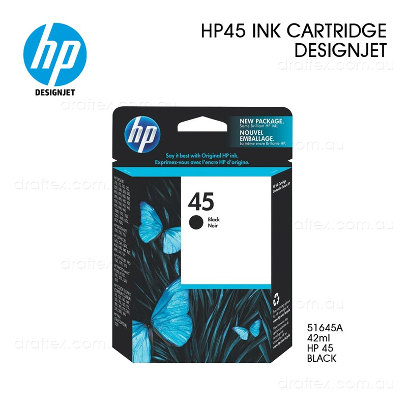 Hp 45 Ink Cartridge Black 69Ml