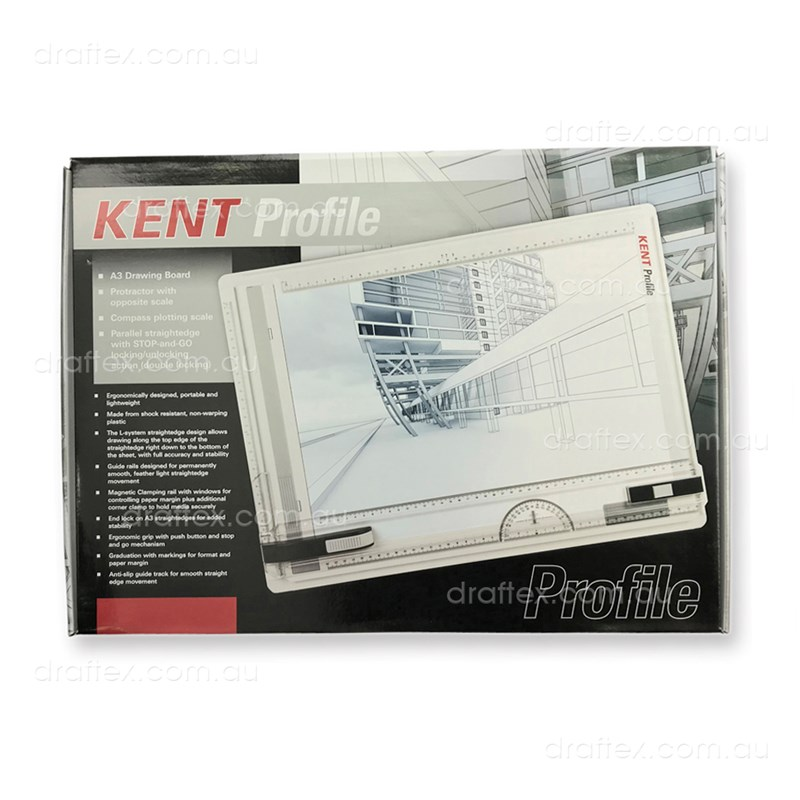 Kentdba3 Kent A3 Profile Double Locking Drawing Board View 2 Boxed