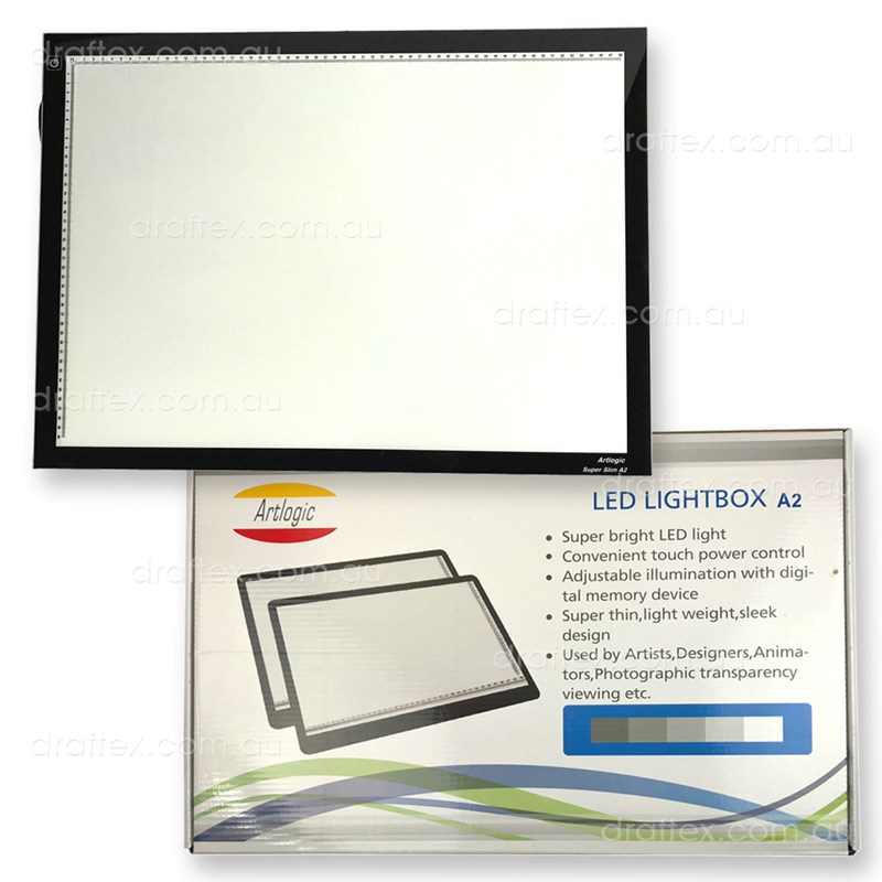 Ledlba2 Artlogic Slimline Led Light Box A2