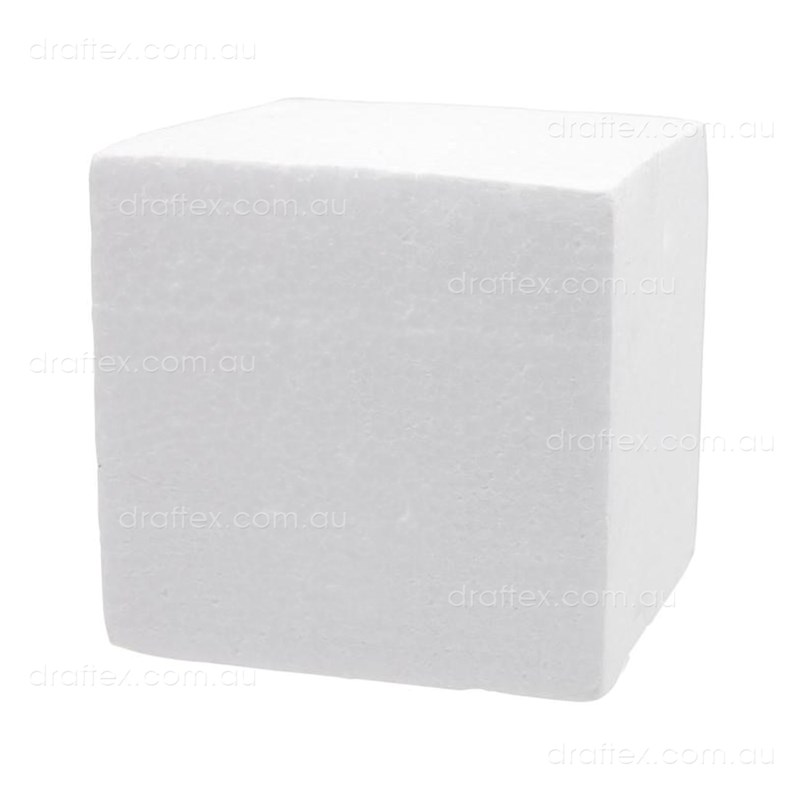 Mblock White Foam Modelling Block 300 X 300 X 75Mm