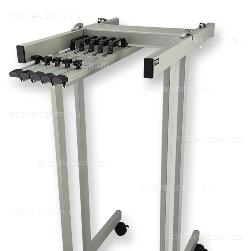 Pfp1 Draftex Plan Filing Package No1 1 X A1 10 Clamp Capacity Trolley With 5 X A1 Clamps View 1