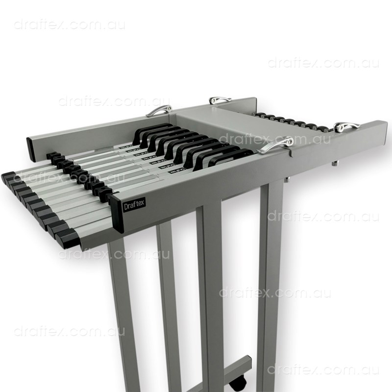 Pfp2 Draftex Plan Filing Package No2 1 X A1 10 Clamp Capacity Trolley With 10 X A1 Clamps View 1