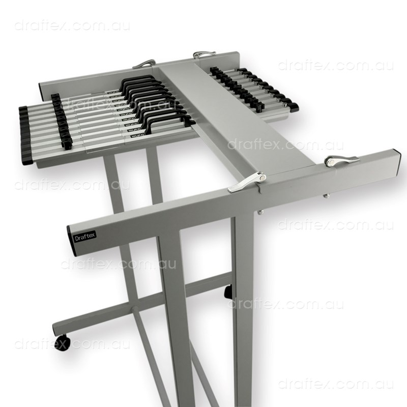 Pfp3 Draftex Plan Filing Package No3 1 X A1 20 Clamp Capacity Trolley With 10 X A1 Clamps View 1