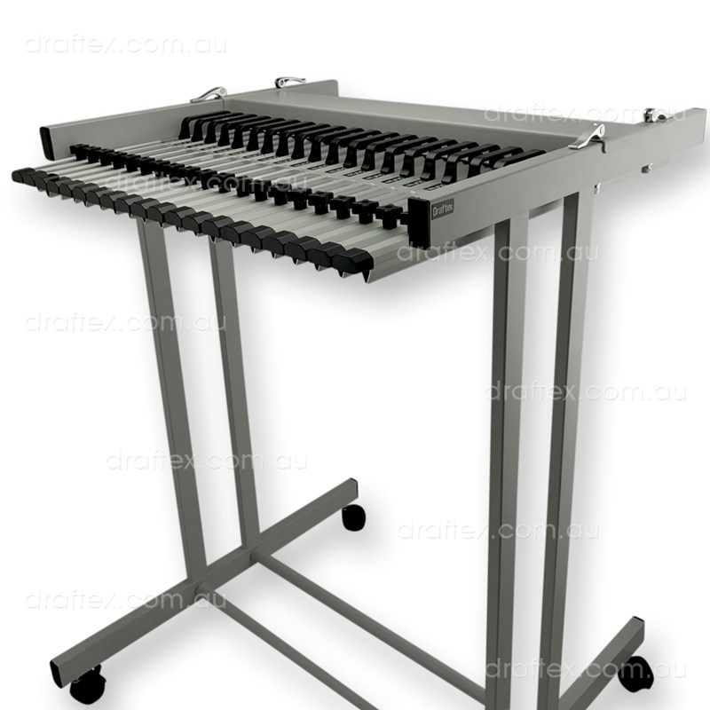 Pfp4 Draftex Plan Filing Package No4 1 X A1 20 Clamp Capacity Trolley With 20 X A1 Clamps View 1