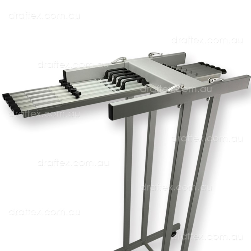 Pfp7 Draftex Plan Filing Package No7 1 X A0 10 Clamp Capacity Trolley With 5 X A0 Clamps View 1