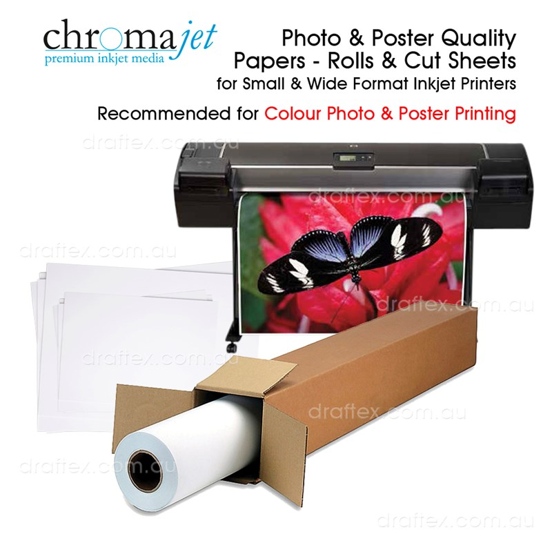 Photo Poster Quality Inkjet Paper