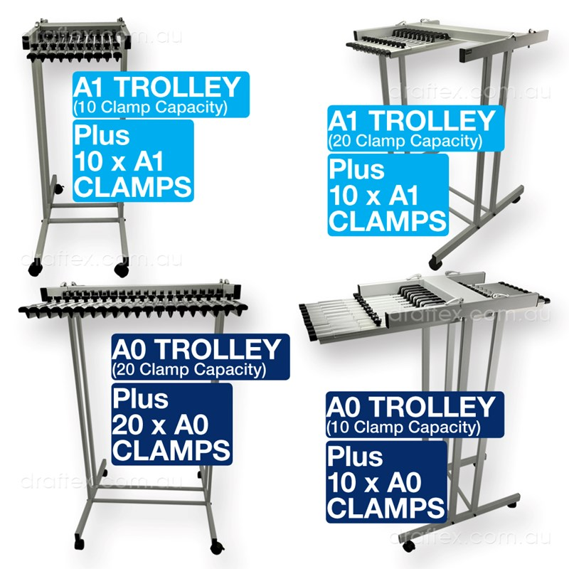 Plan Trolley Clamp Packages