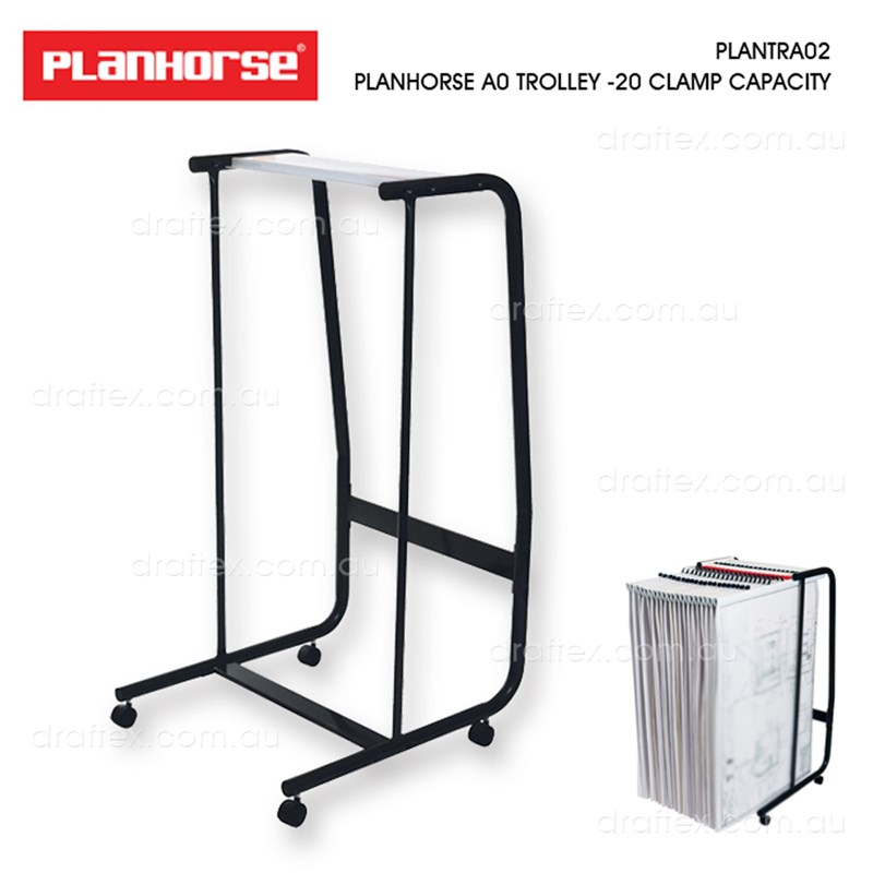 Plantra02 Planhorse Ao Plan Trolley 20 Clamp Capacity