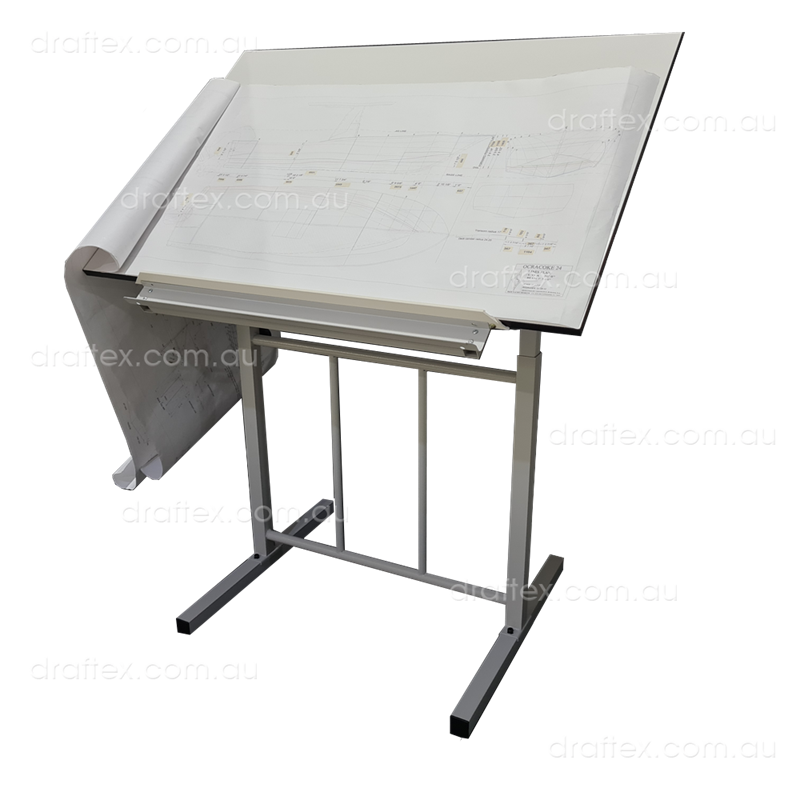 Prta1 Draftex Plan Reading Table For Up To A1 Size Drawings Ds20 Stand Sprung Holding Clips View 1