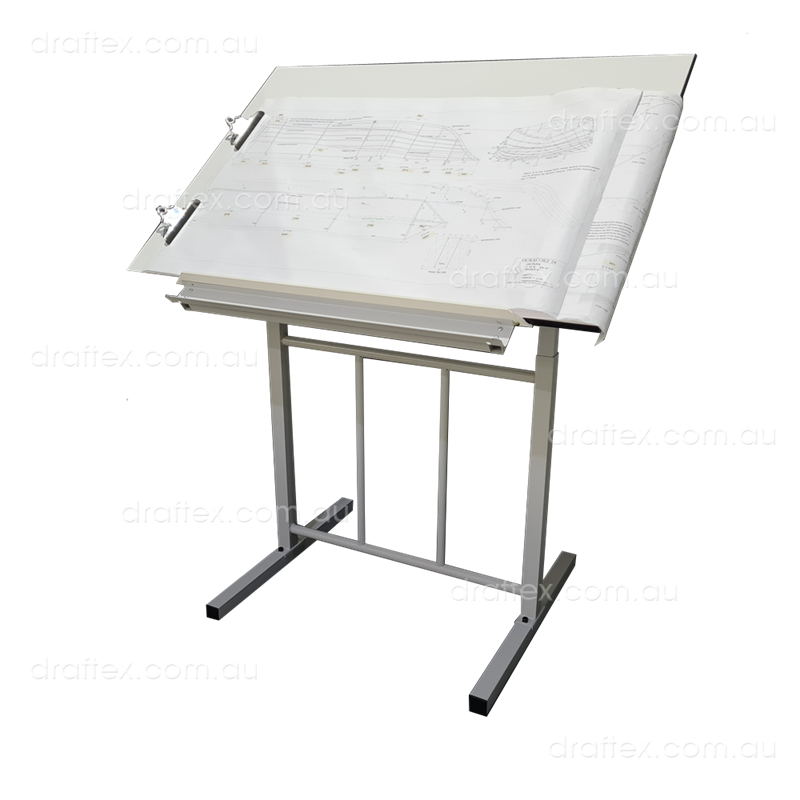Prta1 Draftex Plan Reading Table For Up To A1 Size Drawings Ds20 Stand Sprung Holding Clips View 2
