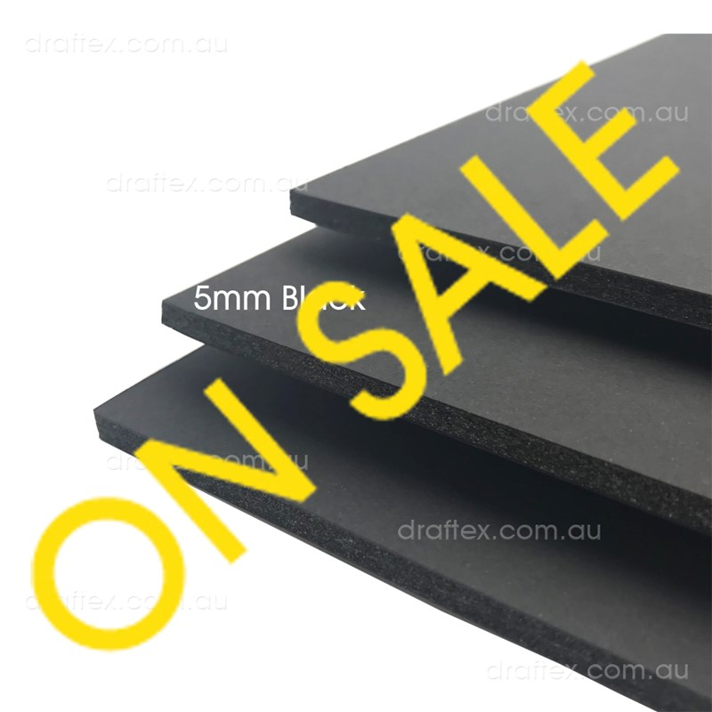 Sale Clearance 5Mm Black Foam Core Board