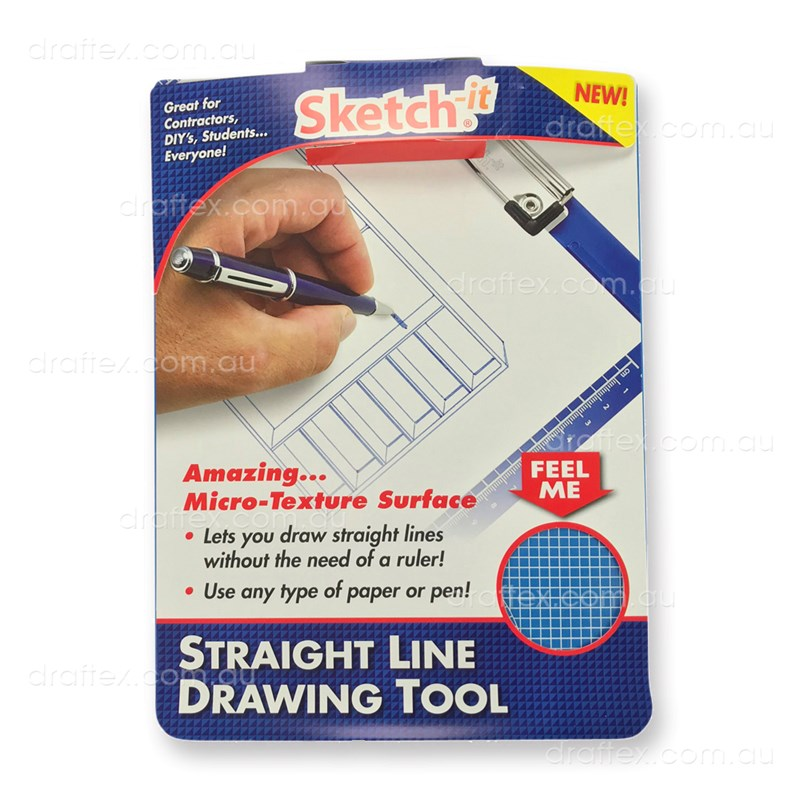 Sketch Itblue Sketch It A4 Clipbpard Drawing Board Packaging And Information