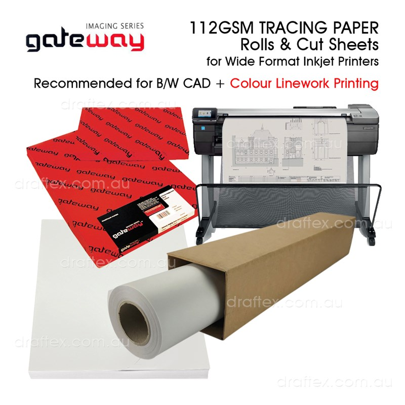 Tracing Paper 112Gs For Inkjet Printers
